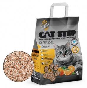 CAT STEP Extra Dry Orange