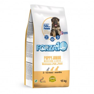 Forza10 PUPPY JUNIOR MEDIUM LARGE MAINTENANCE al Pollo con Patate