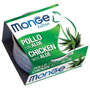 MONGE Chicken & Aloe Kitten