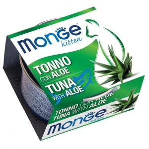 MONGE Tuna & Aloe Kitten